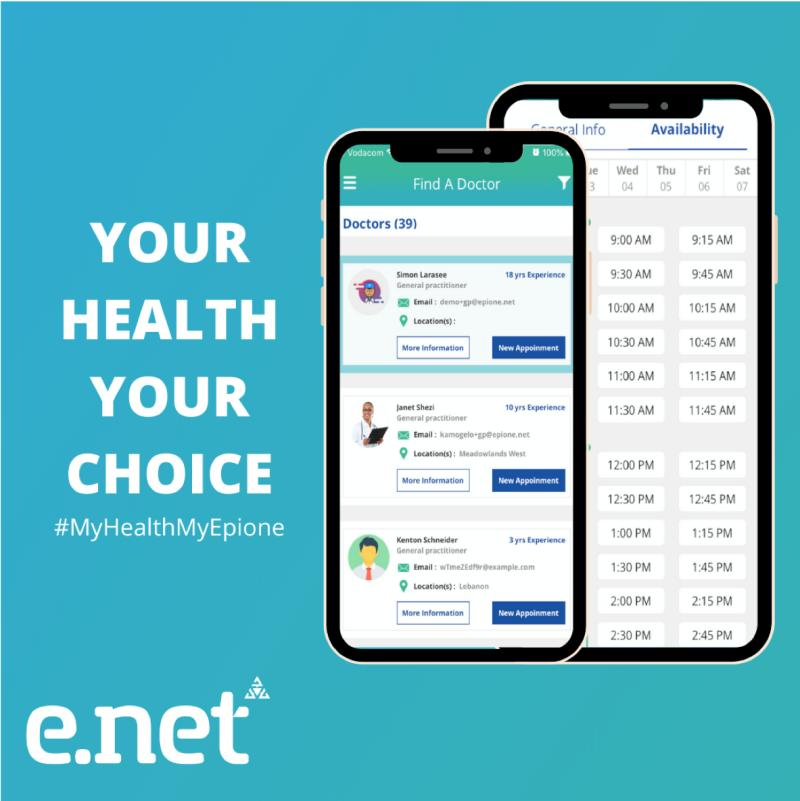 Meet Our epione.net Patient App